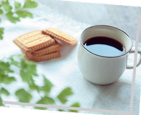 コーヒーを飲みに来るだけでも!