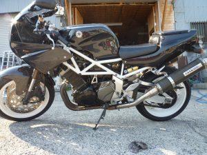 TRX850 カスタム